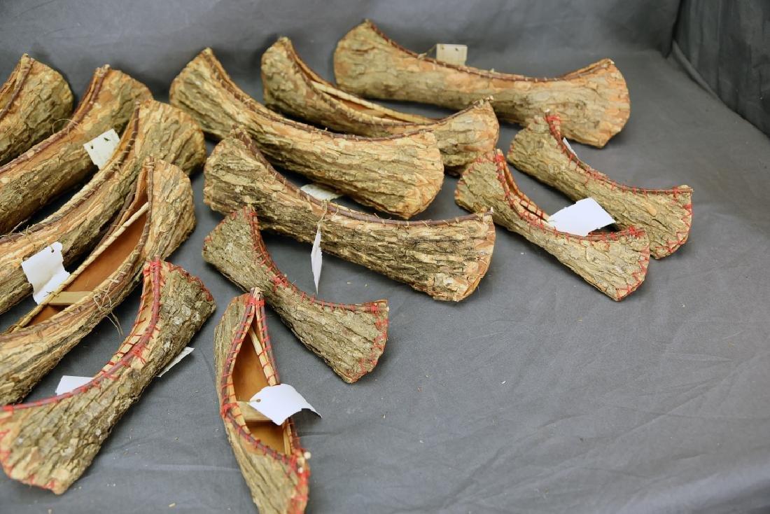 15 Ojibwa Elm Bark Canoes - 3