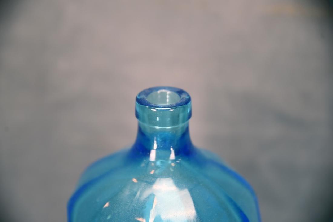 Kleis Beverage Co. Ann Arbor Blue Seltzer Bottle - 5