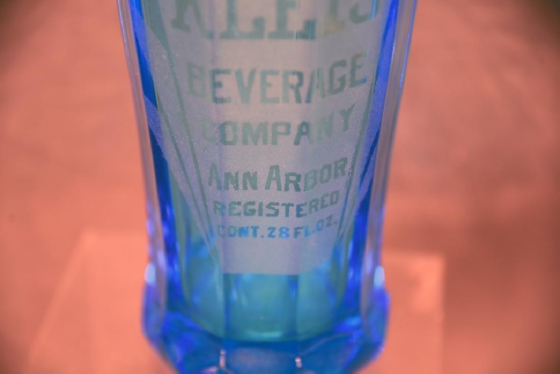 Kleis Beverage Co. Ann Arbor Blue Seltzer Bottle - 7