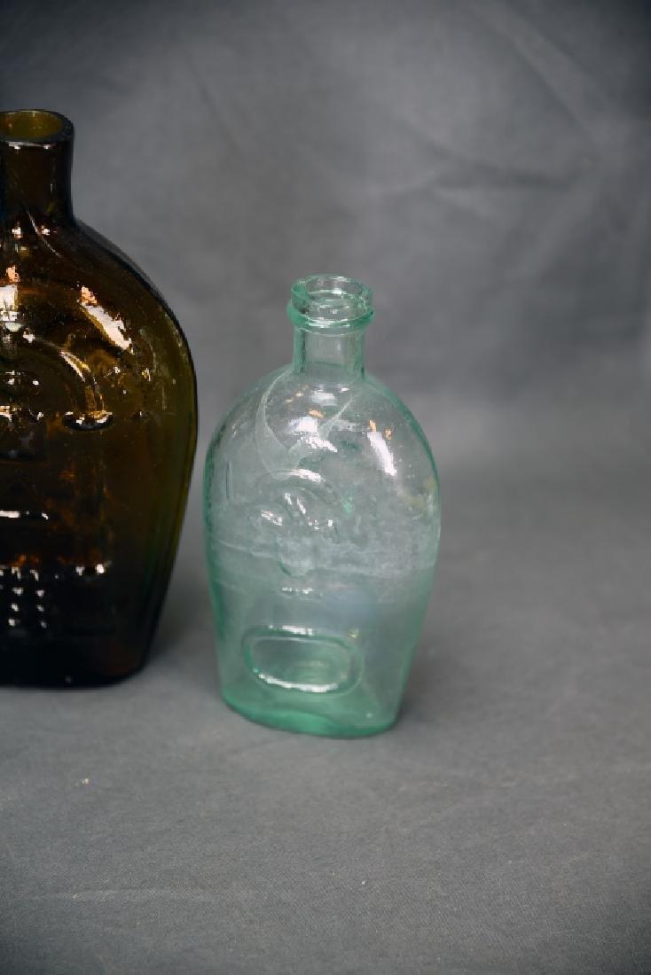 7 Older Blown Glass Bottles - 5