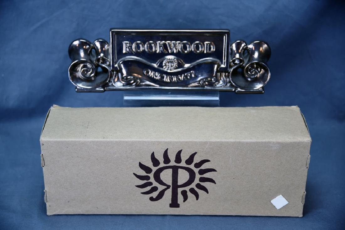 1991 Rookwood Pottery Placquard Sign