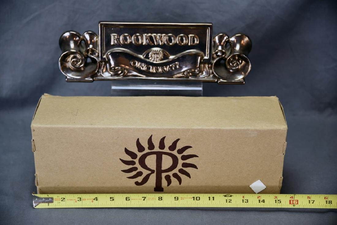 1991 Rookwood Pottery Placquard Sign - 3