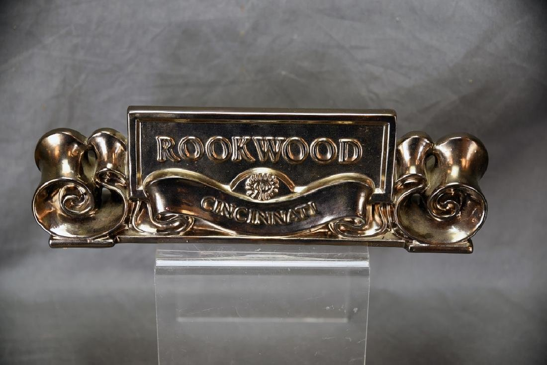 1991 Rookwood Pottery Placquard Sign - 4