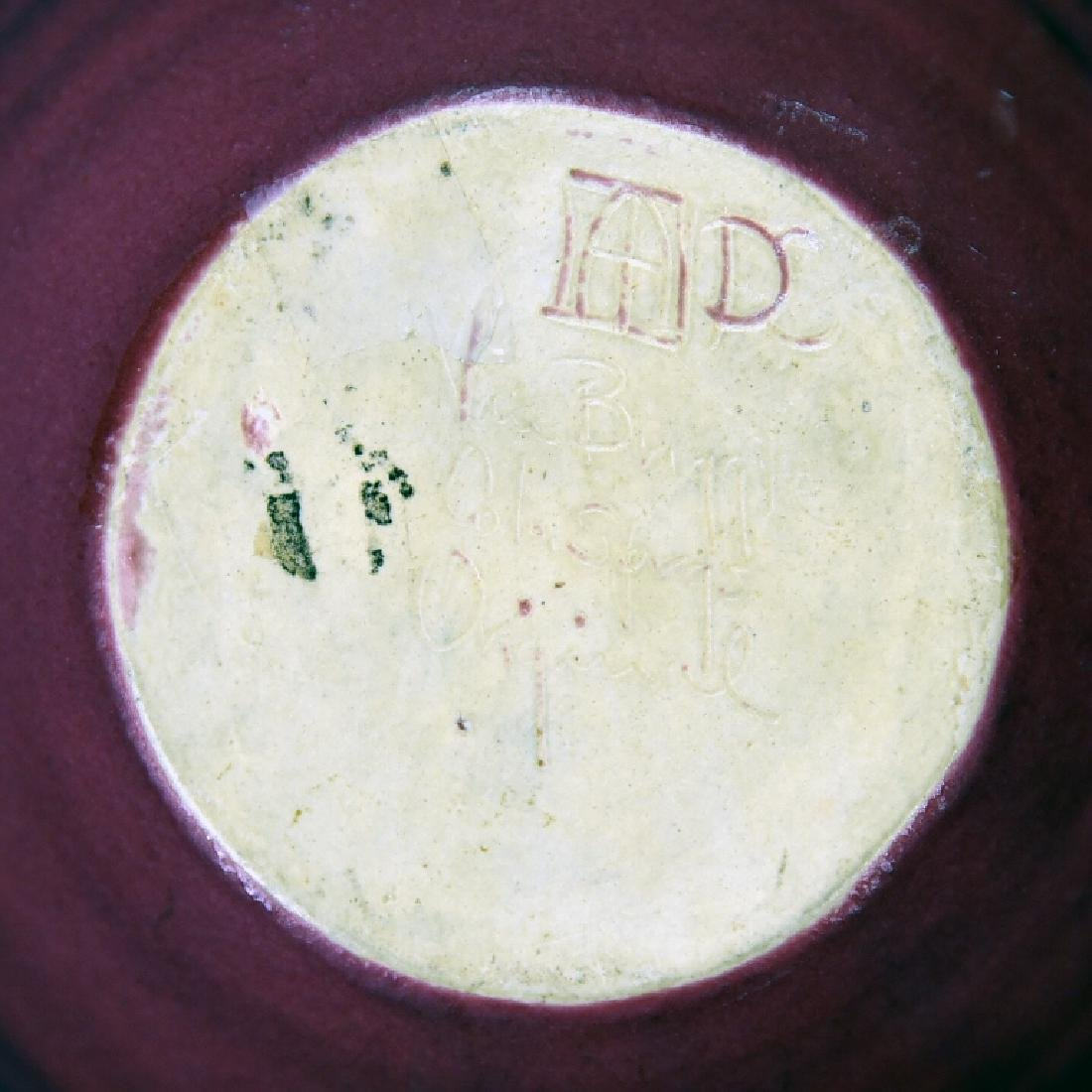Torquay Kingfisher Bowl, 2 Van Briggle Pieces - 6