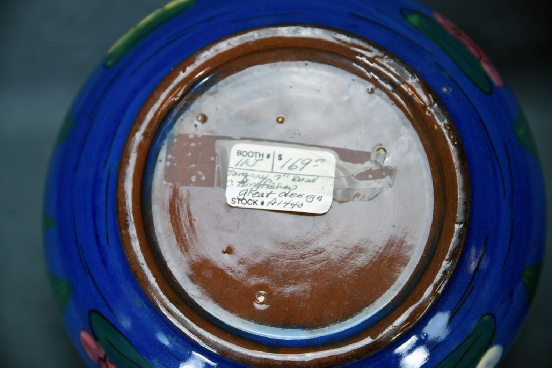 Torquay Kingfisher Bowl, 2 Van Briggle Pieces - 7