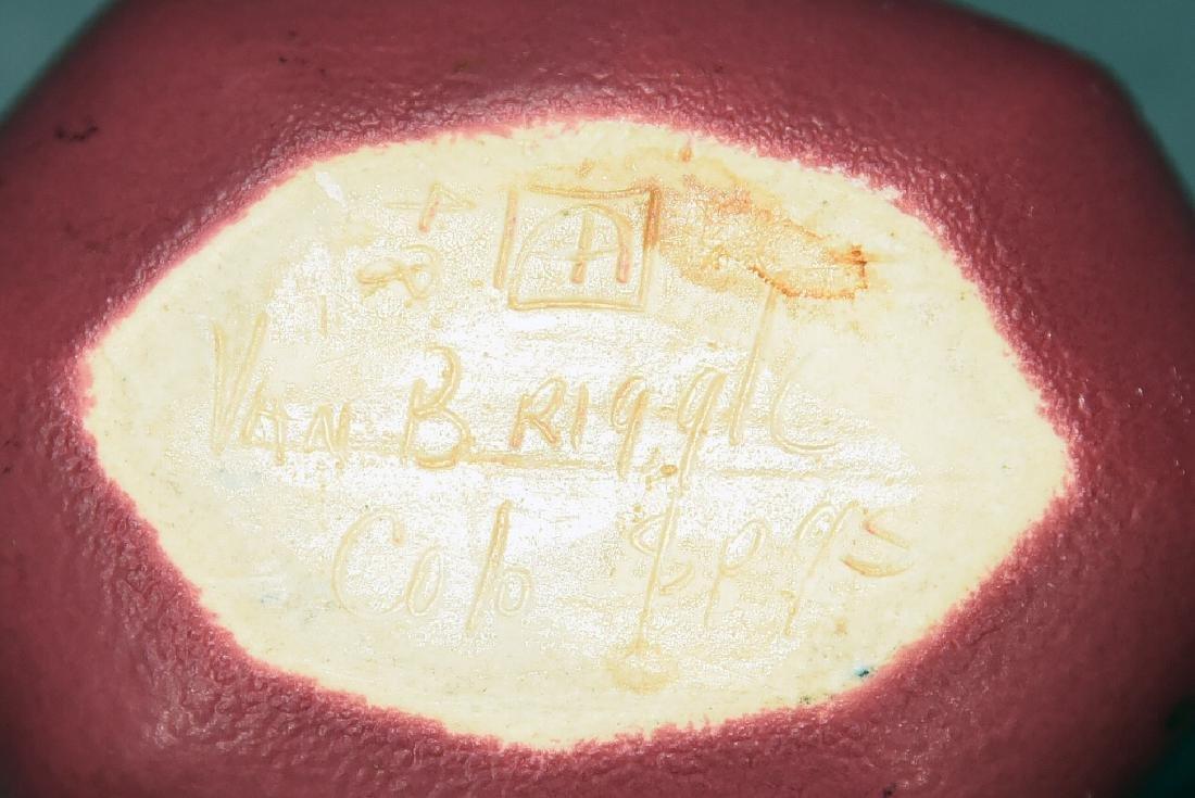 Torquay Kingfisher Bowl, 2 Van Briggle Pieces - 8