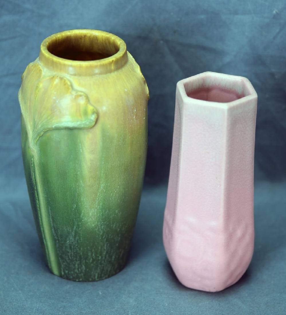 Rookwood and Scott Graves Door Pottery Vases