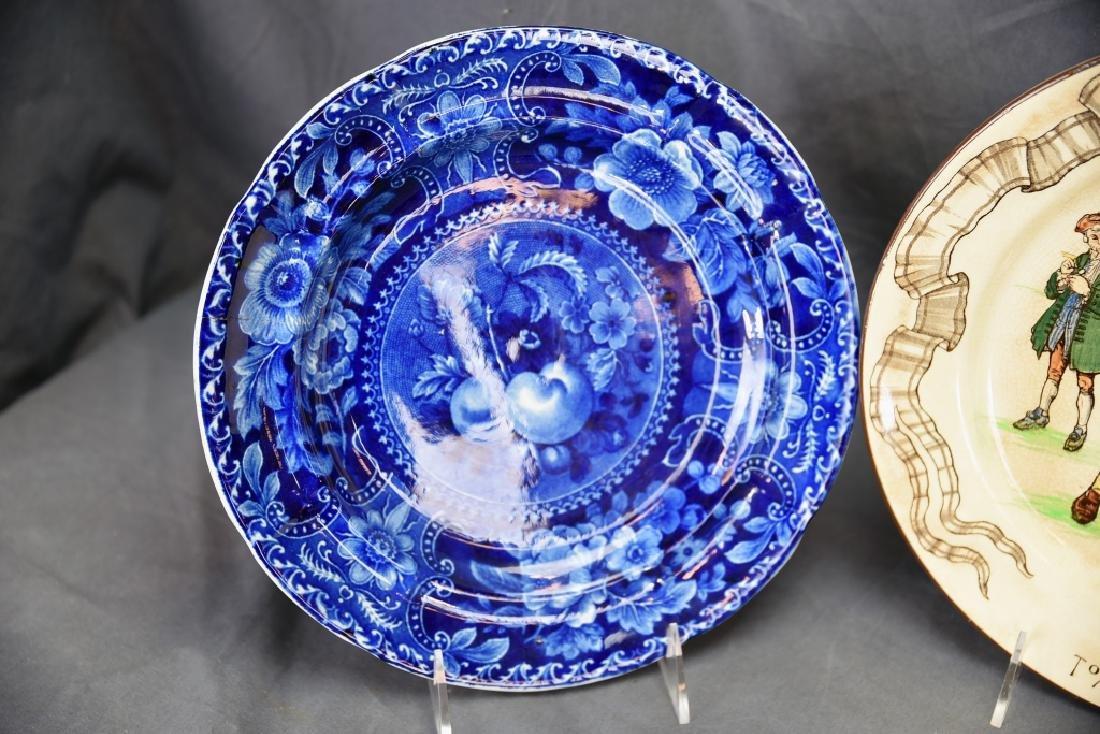 4 Decorative Plates, Longport, Doulton, Belleek… - 4