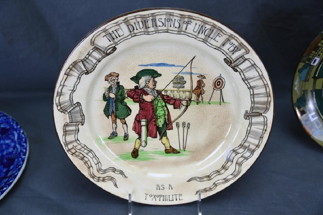 4 Decorative Plates, Longport, Doulton, Belleek… - 8
