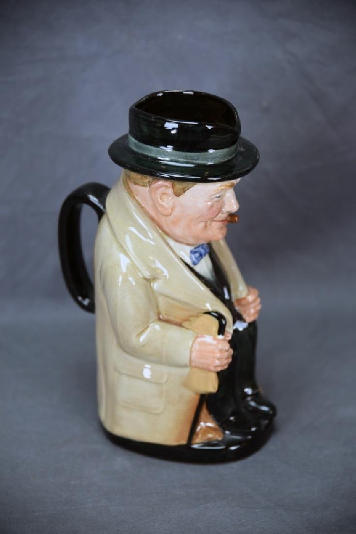 Royal Doulton Winston Churchill 8360 Toby Mug - 4