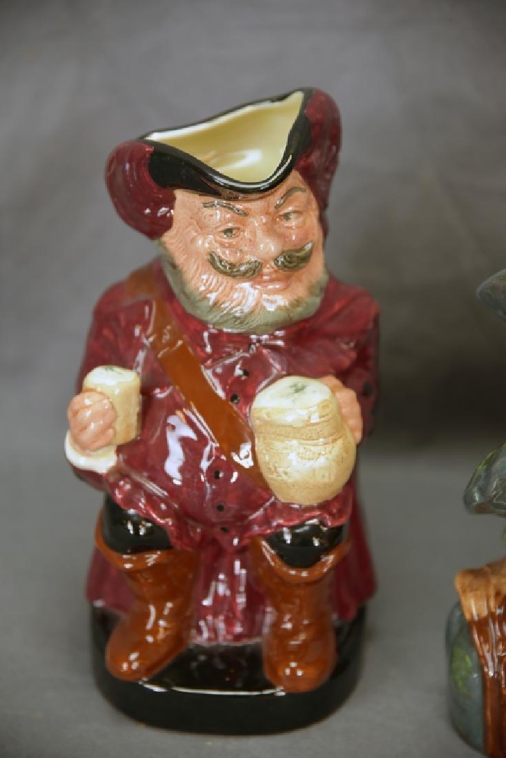 Royal Doulton Rip Van Winkle, Falstaff Toby Mugs - 3