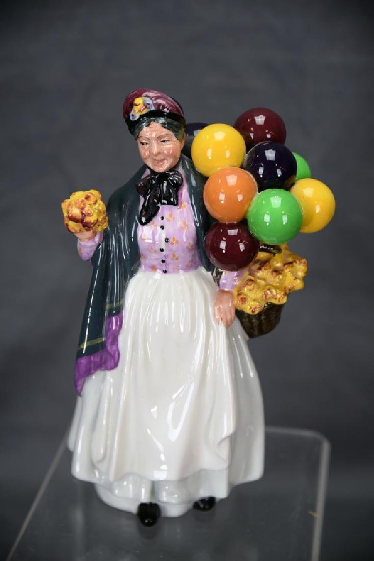 3 Different Royal Doulton Balloon Themed Figurines - 6