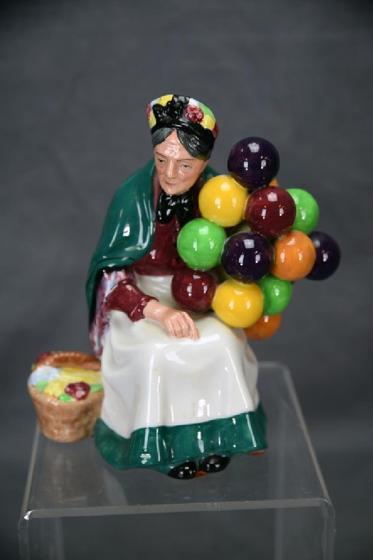 3 Different Royal Doulton Balloon Themed Figurines - 9
