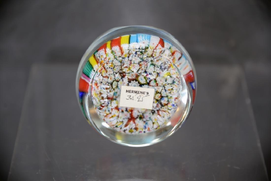 Whitefriars Millefiori Glass Paperweight - 4