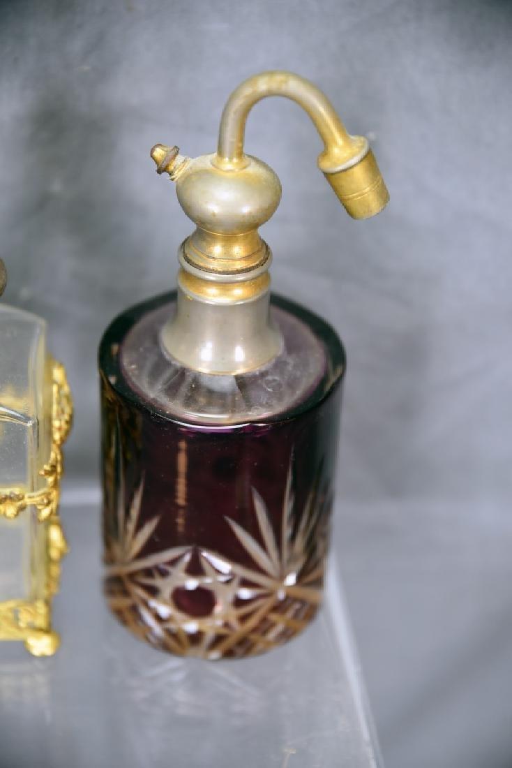 3 Perfumes Metal Filagree Overlay on 2… - 5