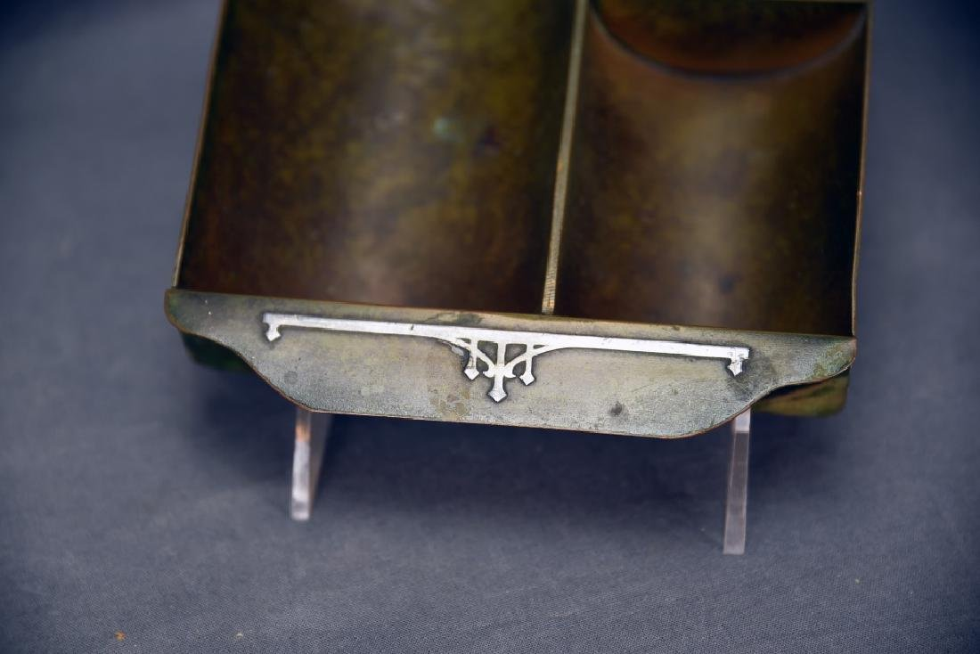 Heintz Art Metal Arts & Crafts Smoking Caddy - 2
