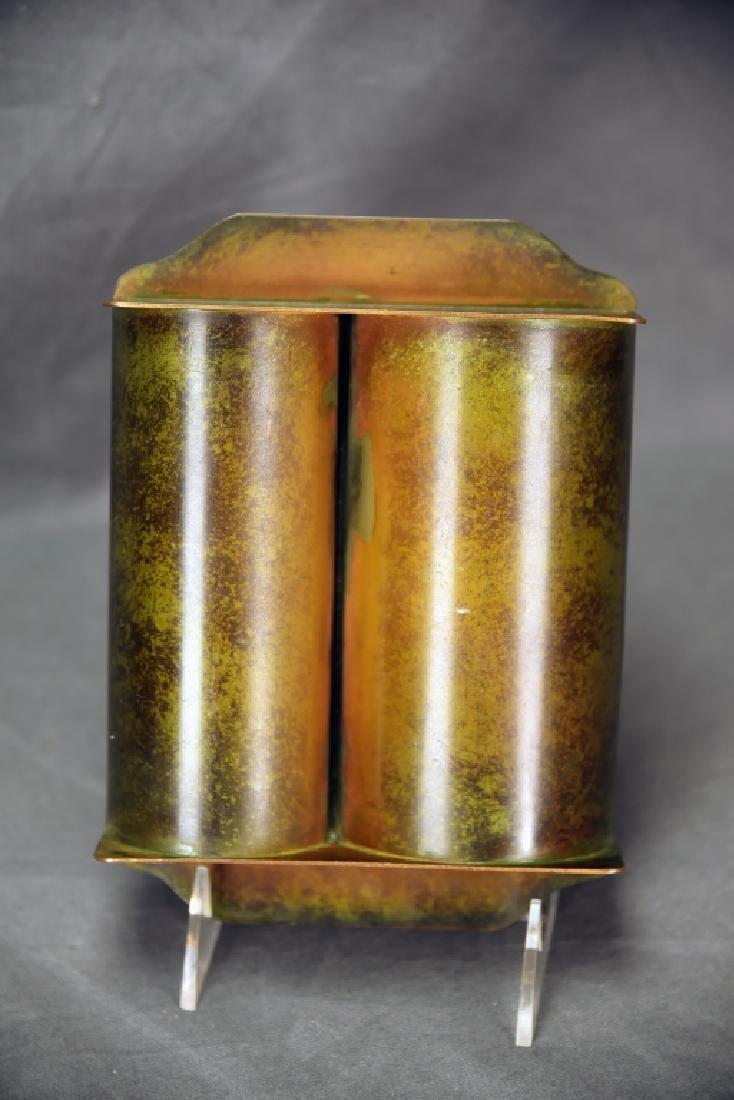 Heintz Art Metal Arts & Crafts Smoking Caddy - 4