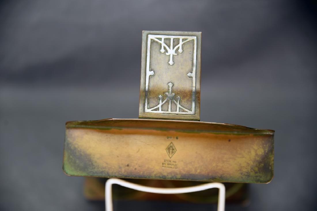 Heintz Art Metal Arts & Crafts Smoking Caddy - 5