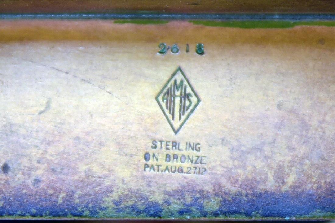 Heintz Art Metal Arts & Crafts Smoking Caddy - 6