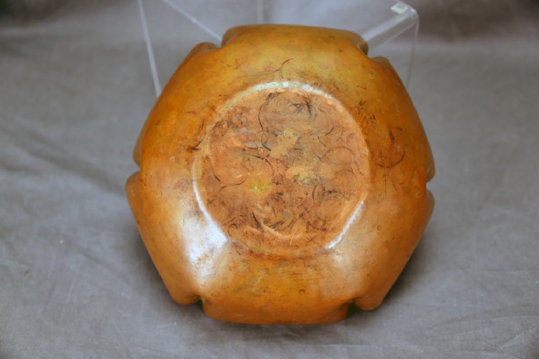 Craftsmen Copper Crumb Set, Unmarked Copper Bowl - 6
