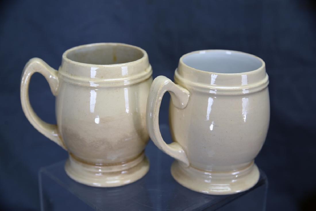 3 Vintage Mettlach Transfer Mugs, Hires Rootbeer - 4