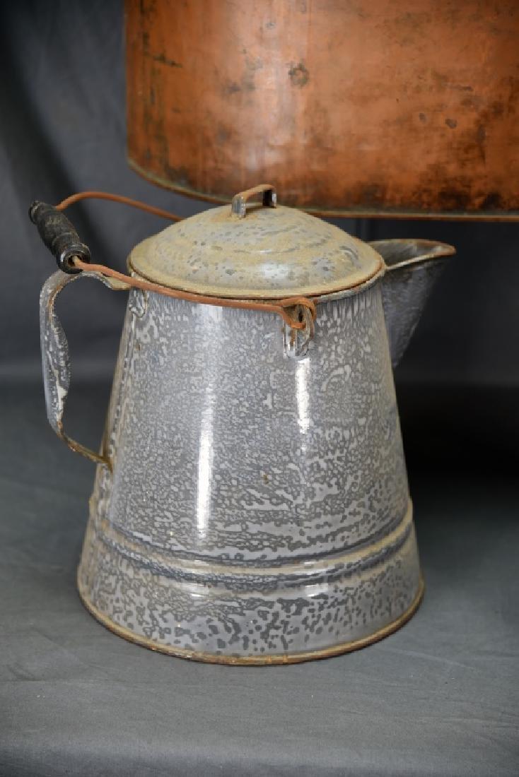 Copper Boiler, Cloverleaf Dairy Cream Can - 3