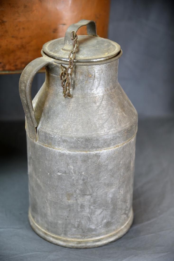 Copper Boiler, Cloverleaf Dairy Cream Can - 4