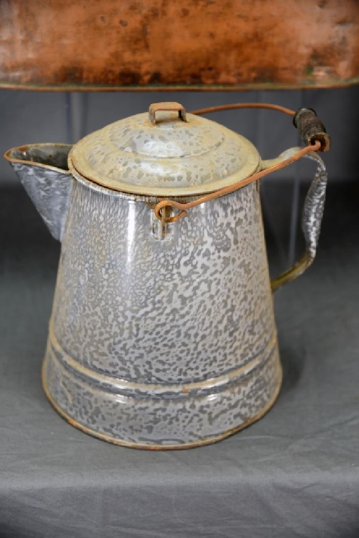 Copper Boiler, Cloverleaf Dairy Cream Can - 5