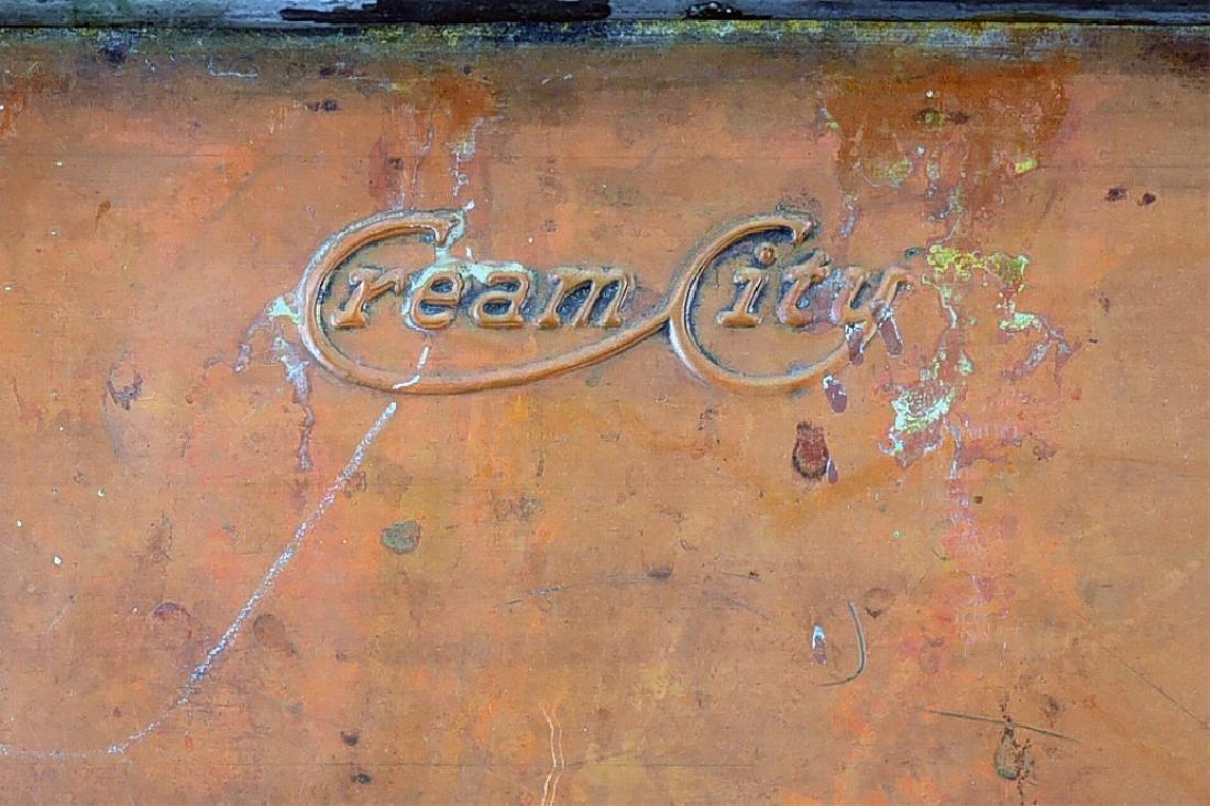 Copper Boiler, Cloverleaf Dairy Cream Can - 8