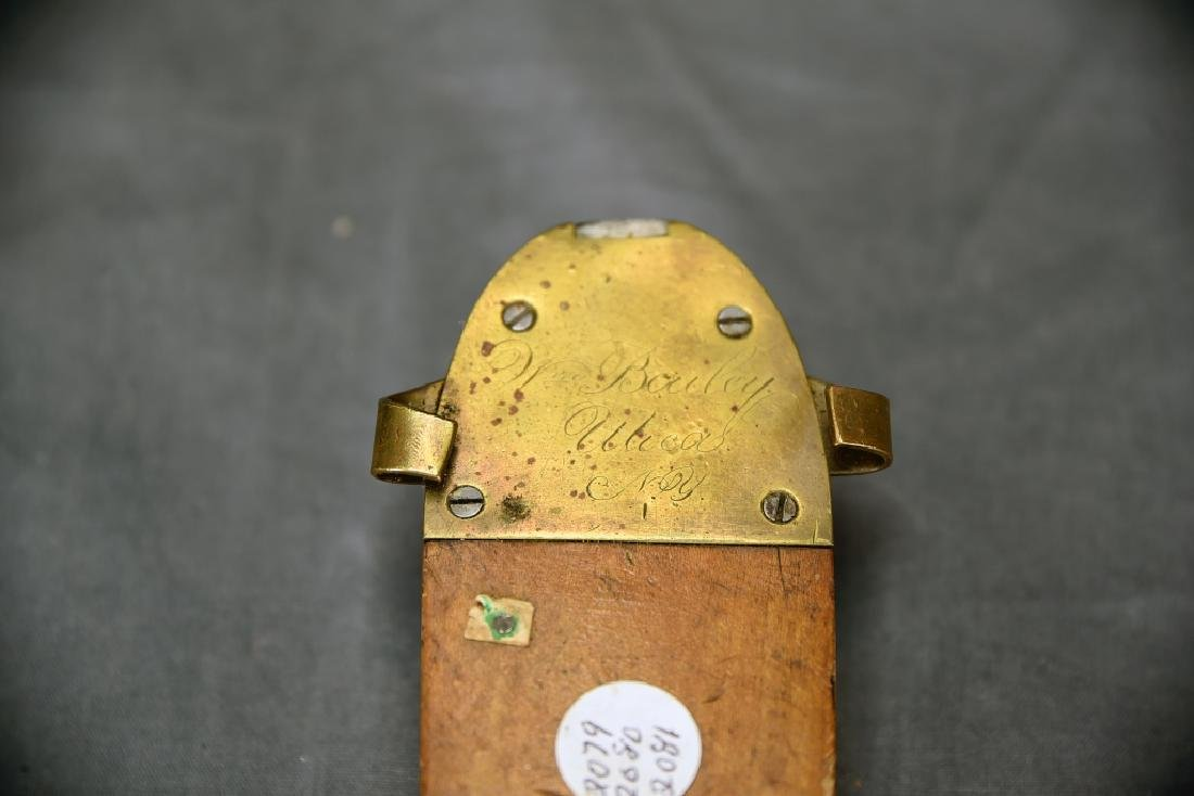 Original Patent Model Ice Skate Dated 1863 - 3