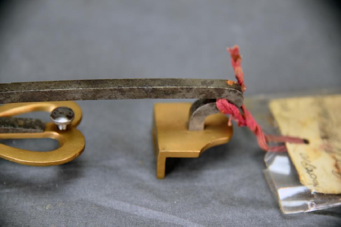Original Patent Jas. H McGuire Ice Skate - 7