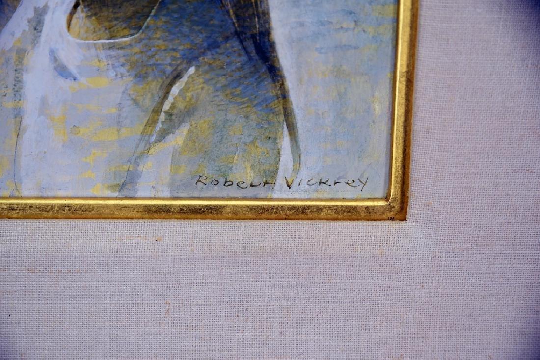 Robert Vickery Egg Tempera Girl's Head 2 Study - 4