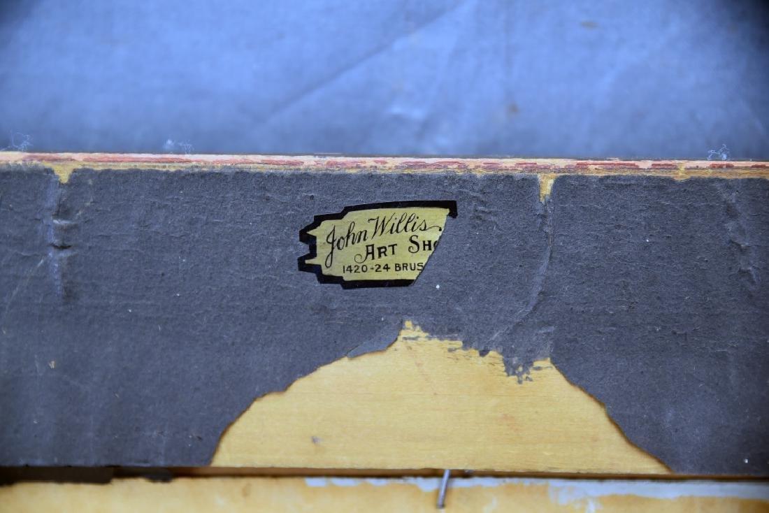Louis Theodore Dube Oil on Board - 10