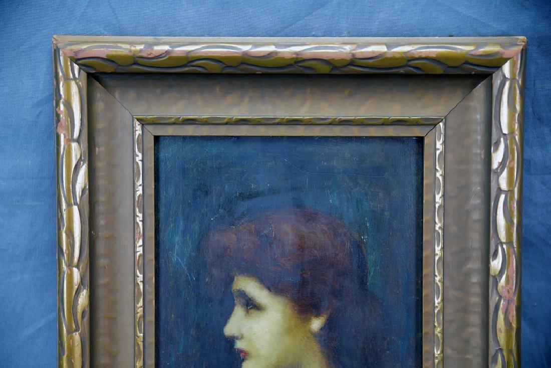 Louis Theodore Dube Oil on Board - 3