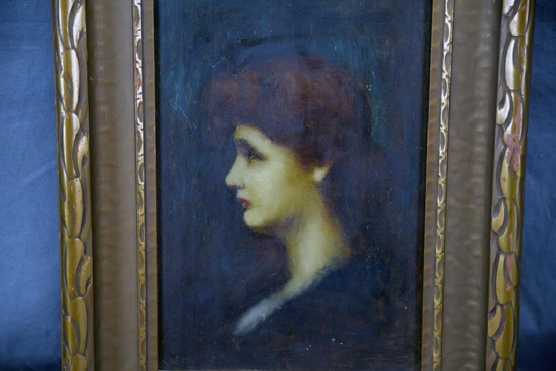 Louis Theodore Dube Oil on Board - 4