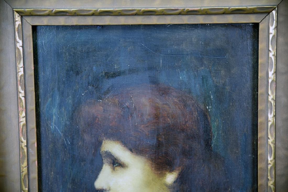 Louis Theodore Dube Oil on Board - 6