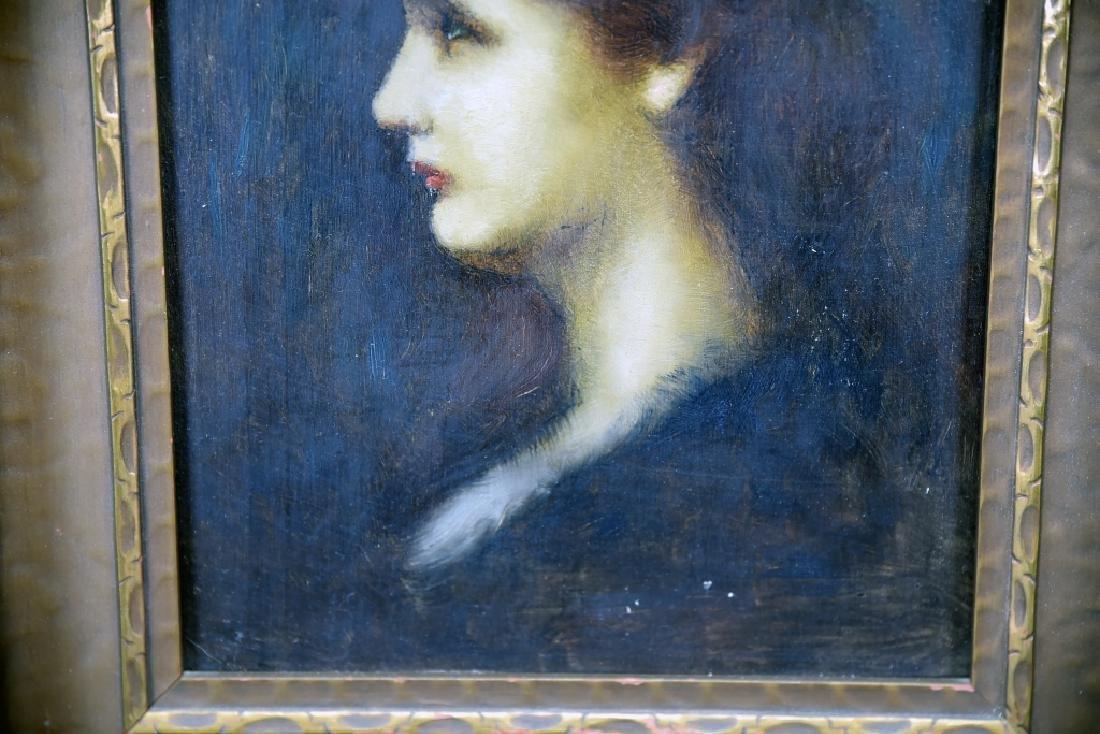 Louis Theodore Dube Oil on Board - 8