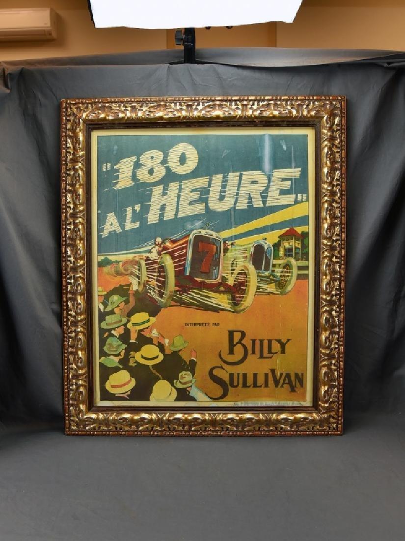 180 Al Heure Billy Sullivan Movie Poster