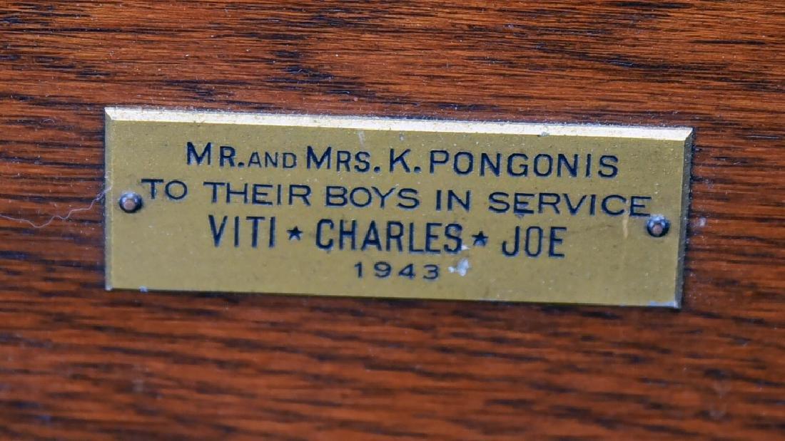 Vintage Station of the Cross Printed on Metal - 6