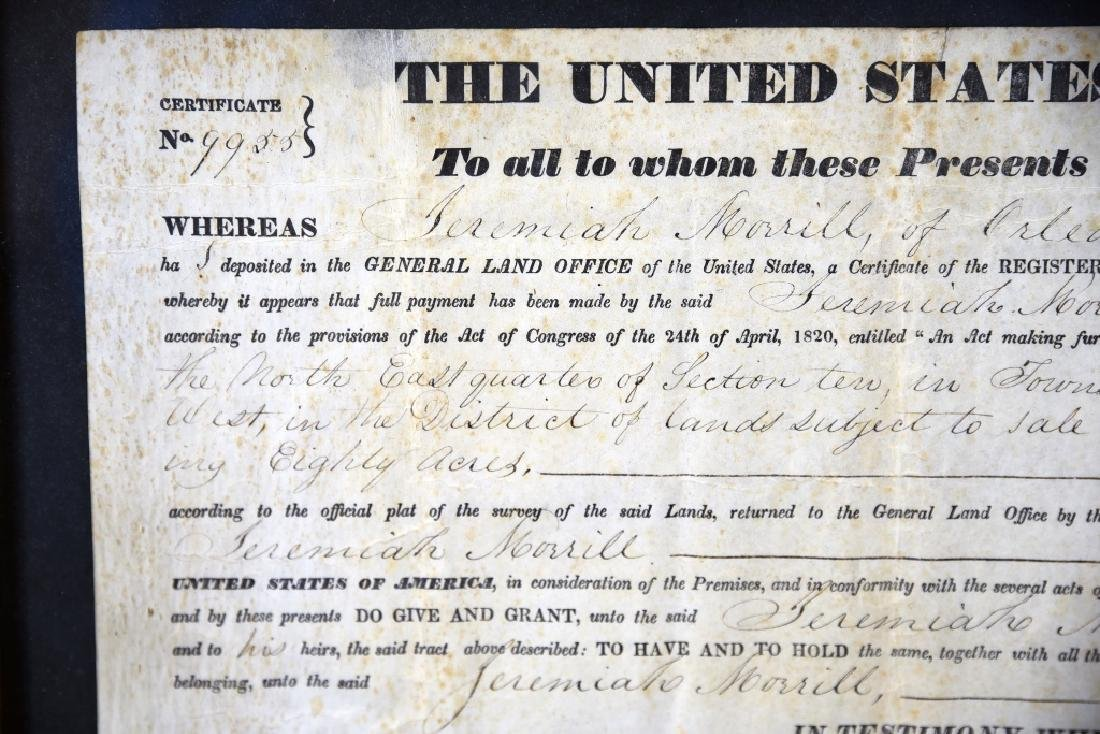 1839 Land Grant Orleans County Vermont - 5