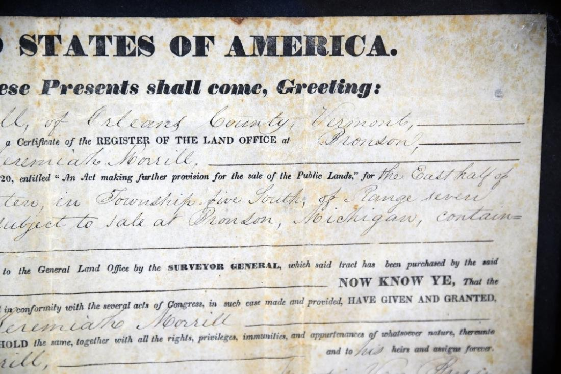 1839 Land Grant Orleans County Vermont - 6