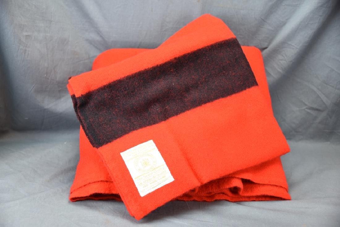 Red Hudson Bay 4 Point Full Size Blanket