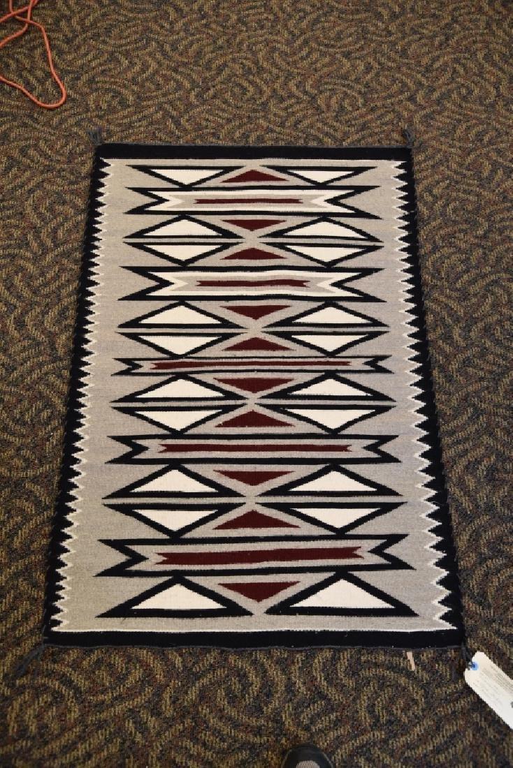 Navajo 4 Color Geometric Rug, Clara Tueher