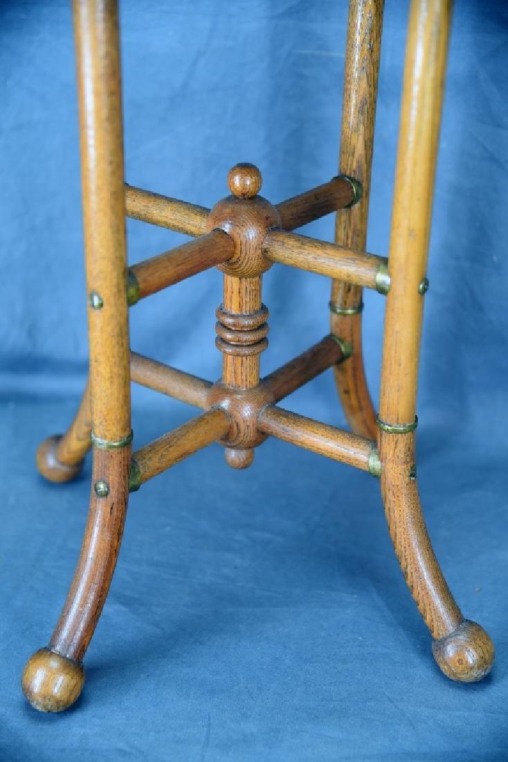 Small Oak Stick and Ball Stand - 3
