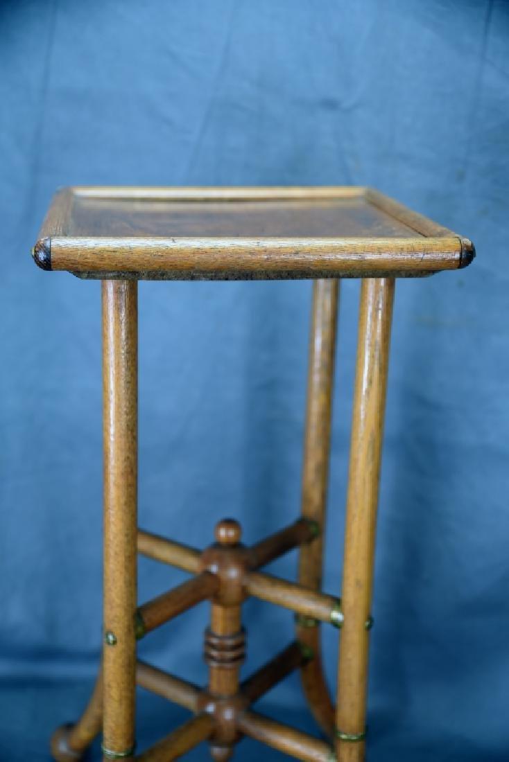 Small Oak Stick and Ball Stand - 4