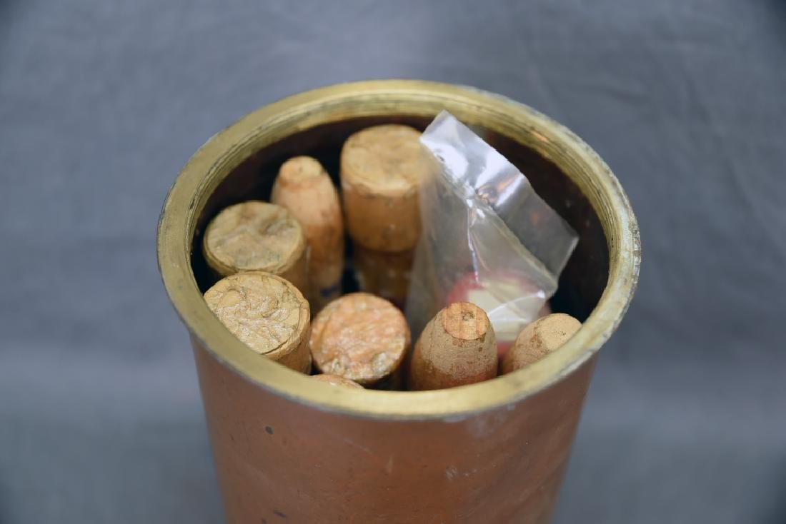 Copper Nautical Flare Emergency Cannister - 3