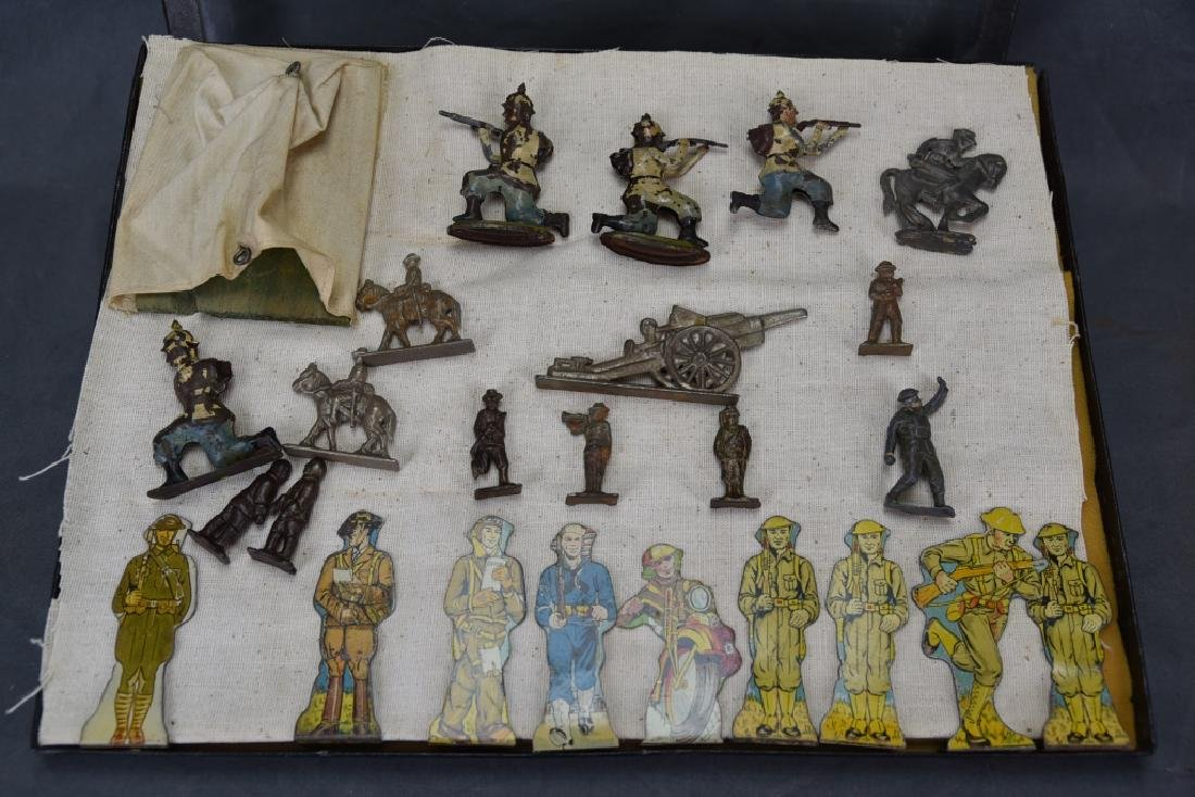 WWI Marx Tin Litho Soldiers, Lead & Other Soldiers