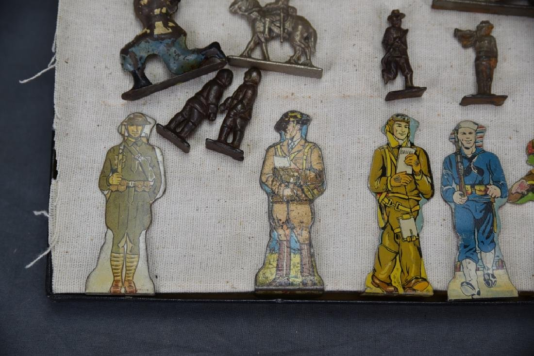 WWI Marx Tin Litho Soldiers, Lead & Other Soldiers - 2