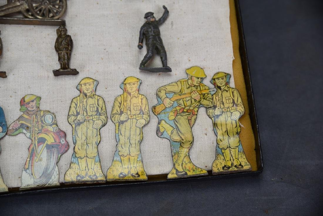 WWI Marx Tin Litho Soldiers, Lead & Other Soldiers - 4