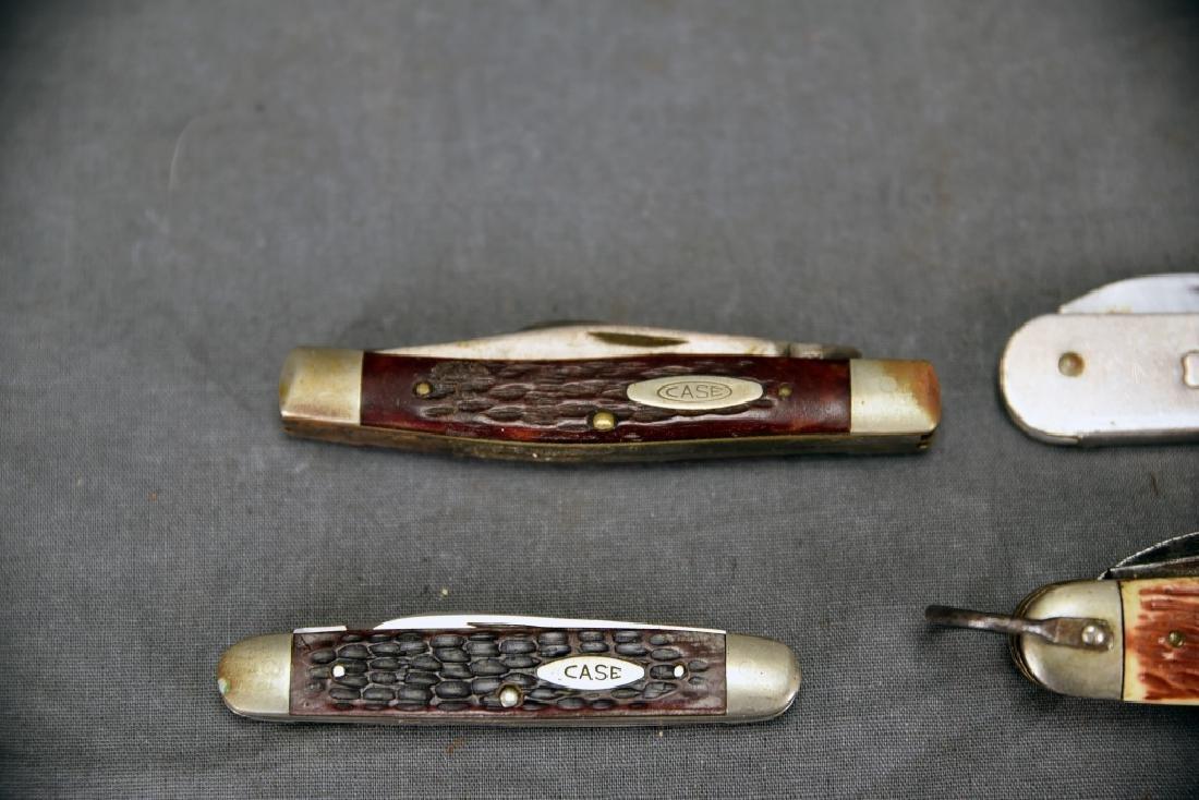 4 Pocket Knives Boy Scout, Girl Scout, 2 Case - 2